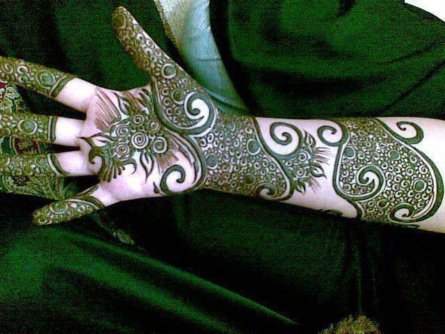 full hand arm mehndi design 2013 Hand Mehndi Design Collection