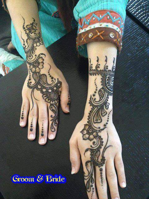 simple hand mehndi design Hand Mehndi Design Collection